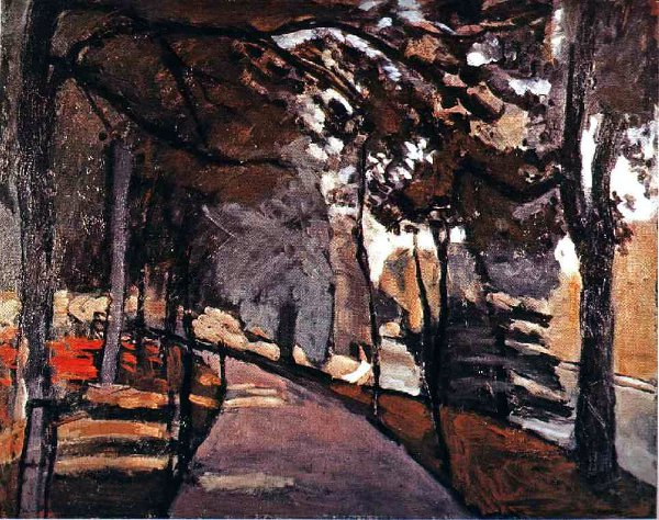 Анри Матисс The path in the Bois de Boulogne 1902