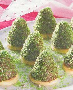 Новые блюда на Новый год. Детский стол на день рождения. Съедобные елки